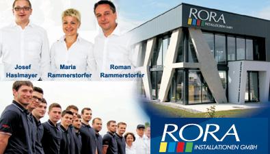 feedback Roman Rammerstorfer - RORA Installationen GmbH
