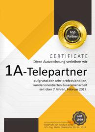Zertifikat-HostProfis
